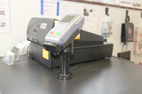 Dankort/Terminal holdere