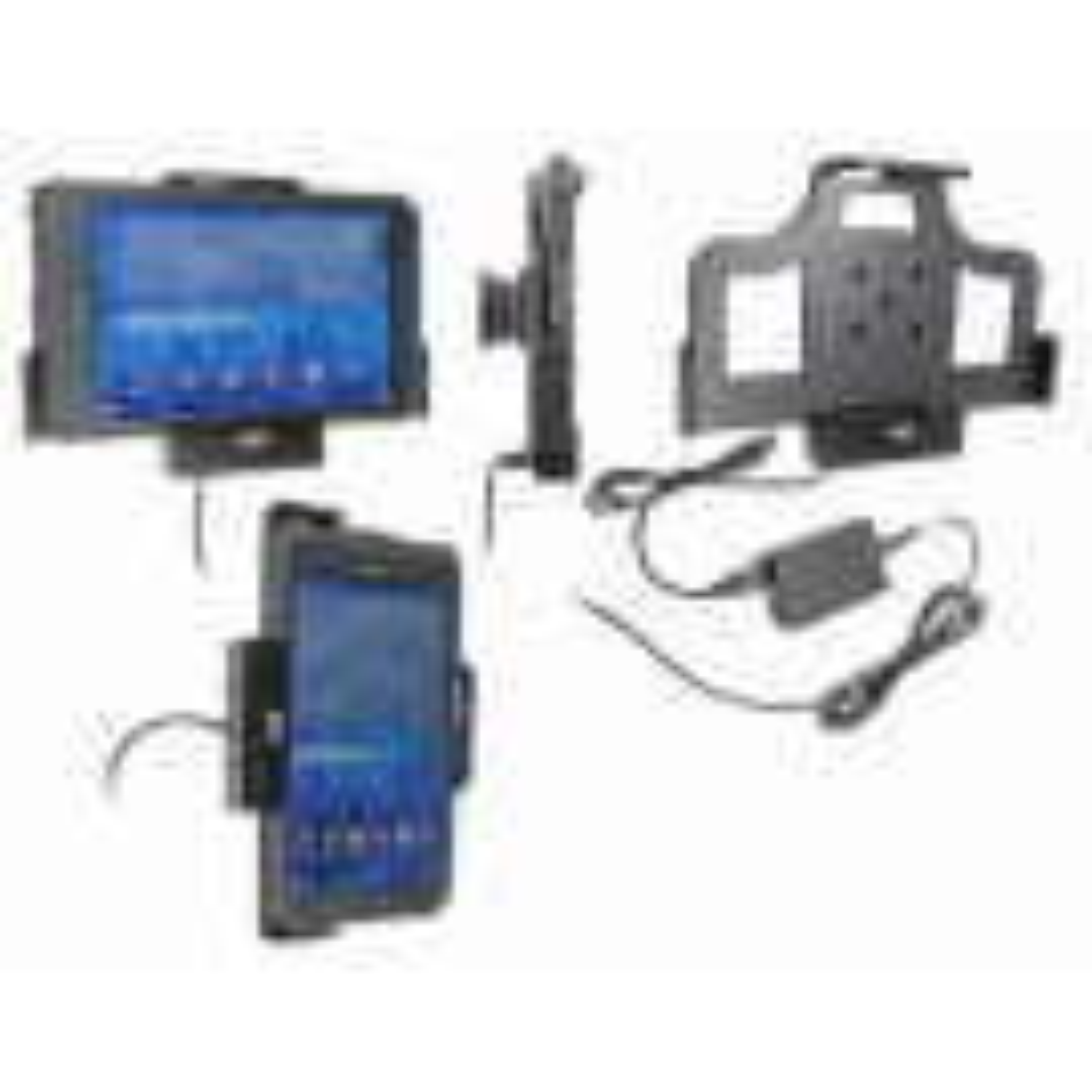 Brodit Faststrøms Aktiv Tablet Mobilholder til Samsung Galaxy Tab Active 8.0 SM-T365 - 513697