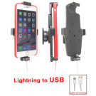 Brodit Passiv kabeltilslutnings holder lightning til USB Apple iPhone 6 Plus/6S Plus/7 Plus/8 Plus/Xs Max m. cover - 514663