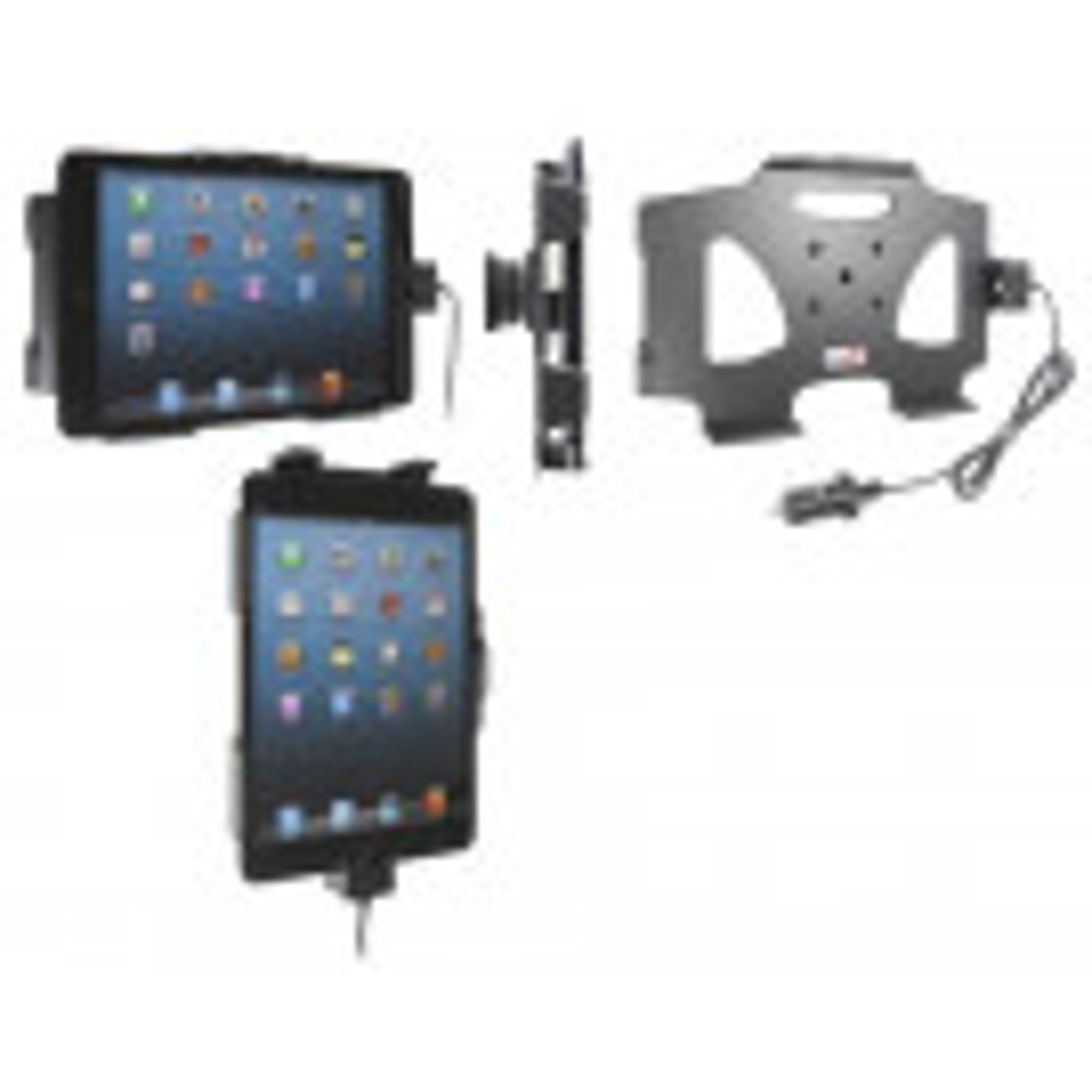 Brodit Aktiv Tablet Holder med cigar adapter til Apple iPad Mini - 521521
