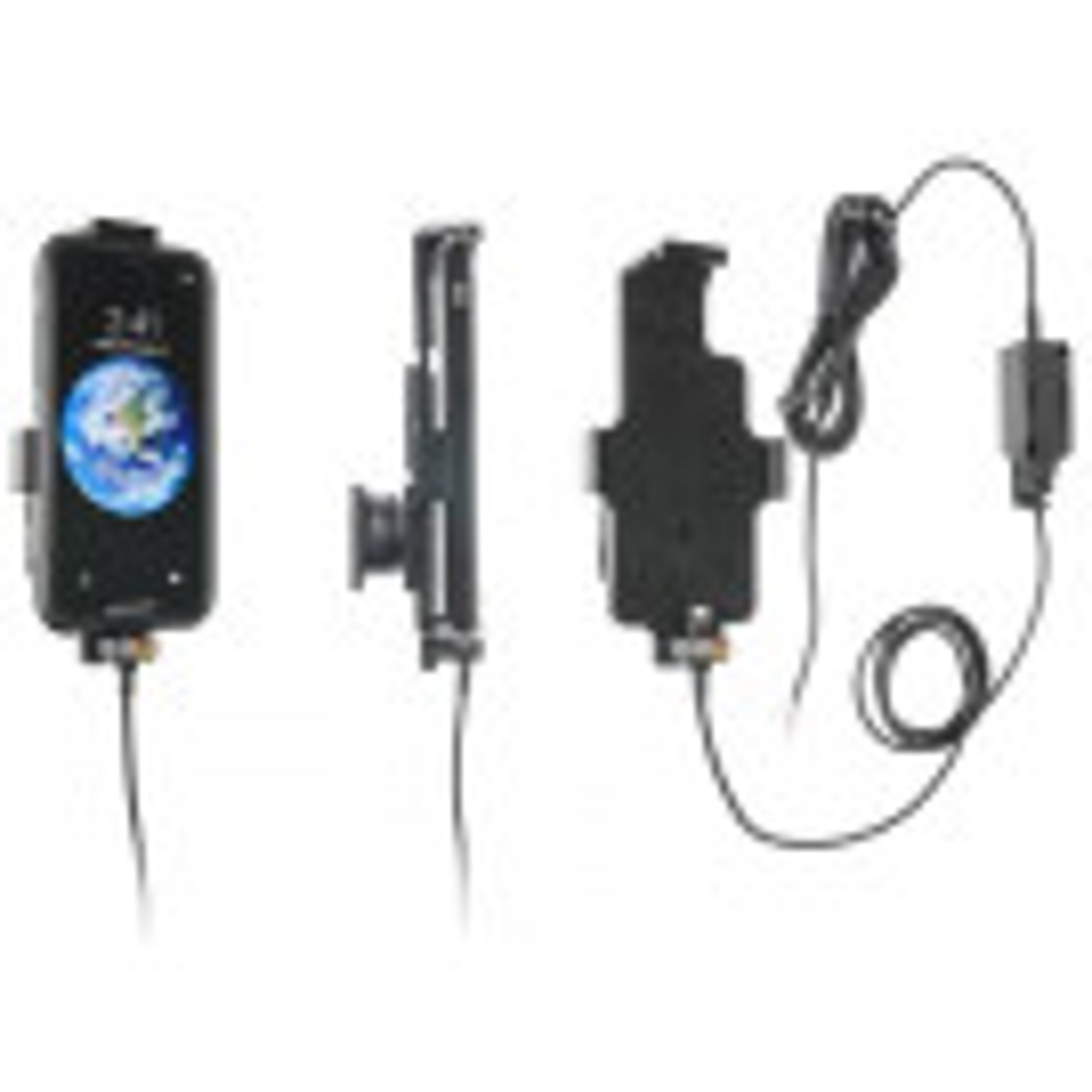 Brodit Faststrøms mobilholder til Apple iPhone X/Xs  m. el. u. Beskyttelsescover - 527998