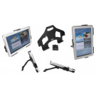 Multistand til Samsung Galaxy Tab 2 10.1 sort