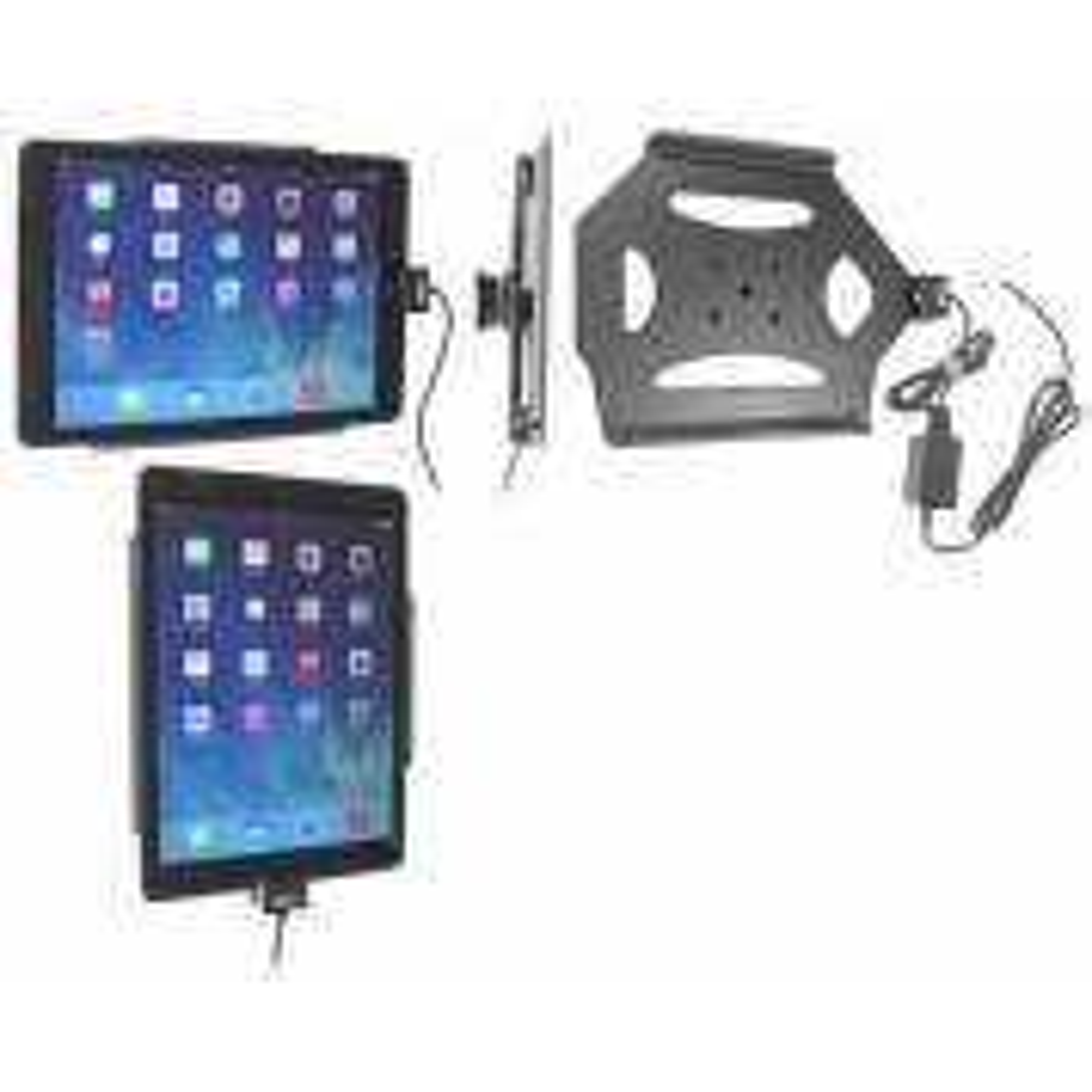 Brodit Faststrøms Aktiv Tablet Holder til Apple iPad 5th. gen./ 6.th gen. 9.7/ Air - 527577