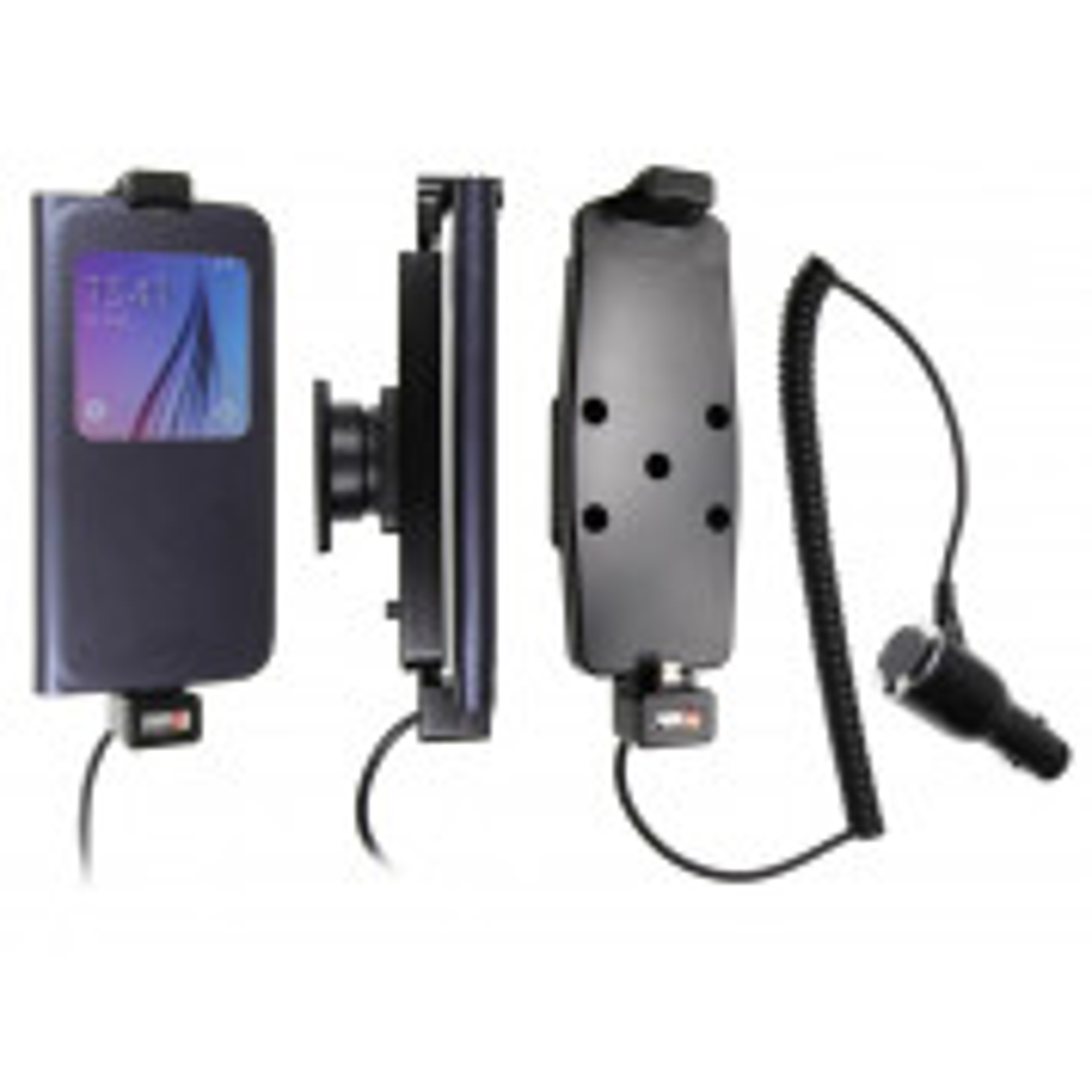 Brodit Aktiv Mobilholder til Samsung Galaxy S6, S6 Edge og S7 med beskyttelsescovers - 512724