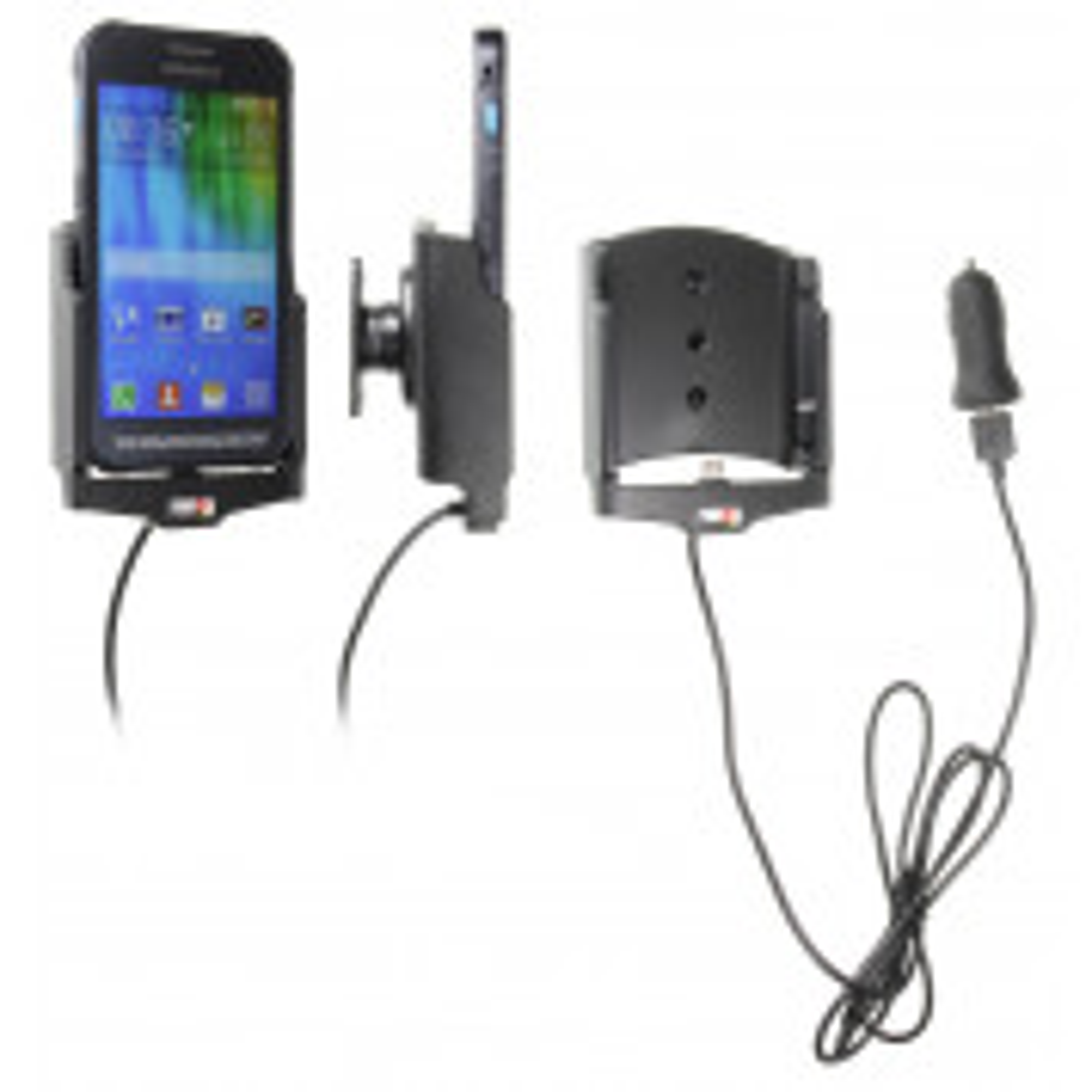 Brodit Aktiv Mobilholder med cigar adapter til Samsung Galaxy Xcover 3 - 521736